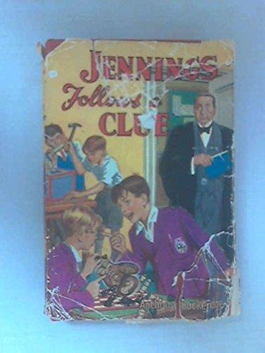 9780001621022: Jennings Follows a Clue