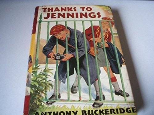 9780001621084: Thanks to Jennings