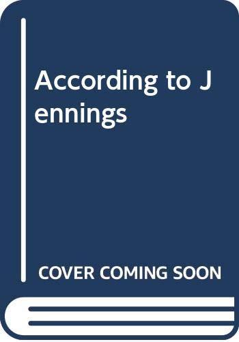 9780001621459: According to Jennings