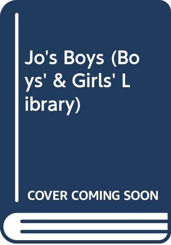 9780001661707: Jo's Boys (Boys' & Girls' Library)