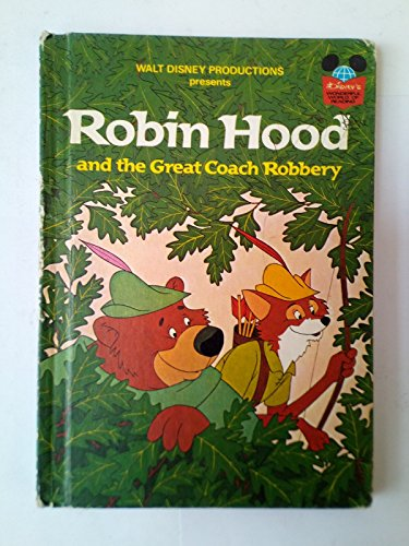 9780001700468: Robin Hood and the Great Coach Robbery (Disney's wonderful world of reading)
