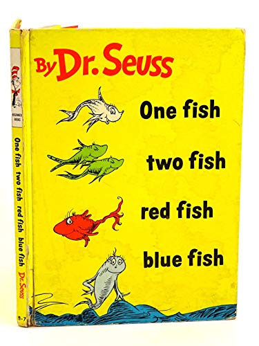 9780001711075: One Fish, Two Fish, Red Fish, Blue Fish (Beginner Books)