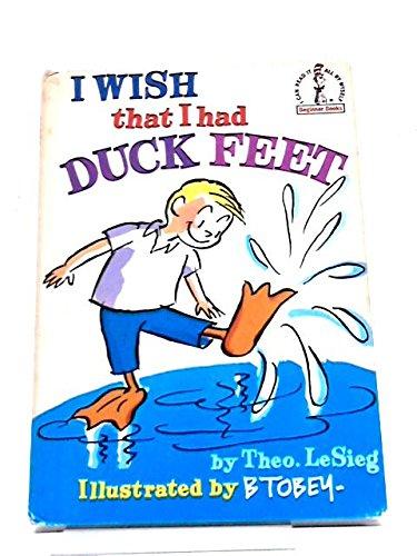 9780001711273: I Wish That I Had Duck Feet (Beginner Series)