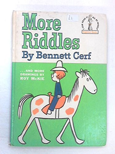 More Riddles (0001711407) by Bennett, Illustrated by Roy McKie Cerf