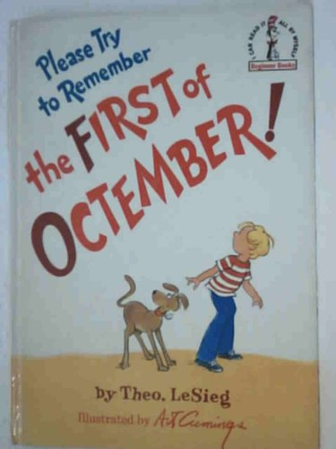 9780001711693: Please Try to Remember the First of Octember (Beginner Series)