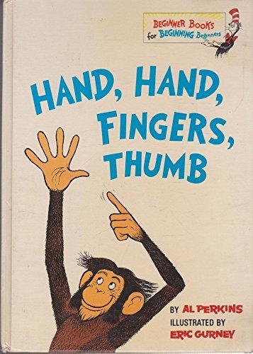 9780001712058: Hand Hand Fingers Thumb