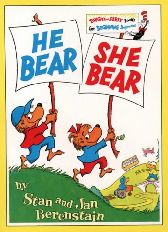 9780001712690: He Bear She Bear (Beginner Series)