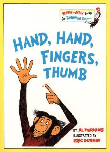 9780001712706: Hand, Hand, Fingers, Thumb (Bright and Early Books)