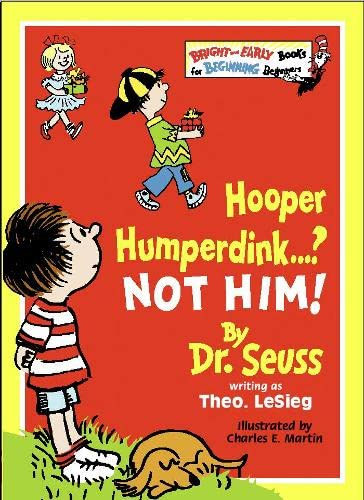 9780001712737: Hooper Humperdink...? Not Him! (Bright and Early Books)