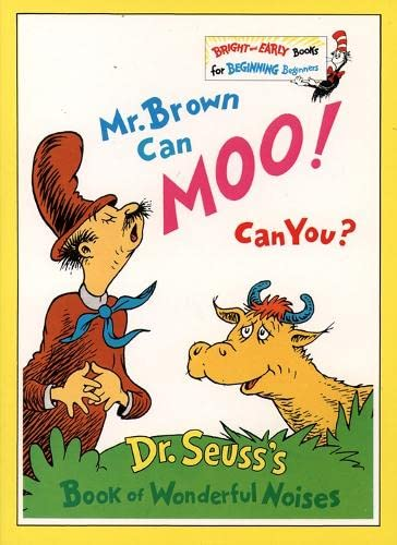 Mr. Brown Can Moo, Can You? (Beginner Books) (9780001712751) by Seuss, Dr.