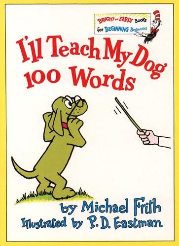 9780001712775: I'll Teach My Dog 100 Words (Bright and Early Books)