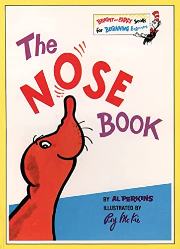 9780001712829: The Nose Book (Bright and Early Books)