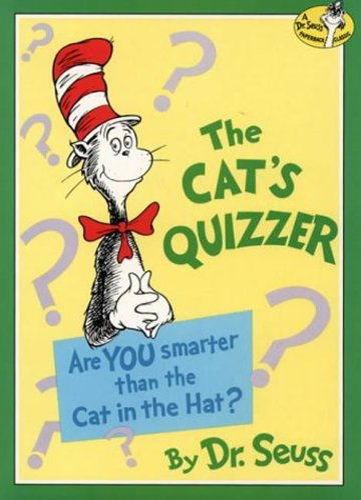9780001716124: The Cat?s Quizzer (Dr.Seuss Classic Collection)