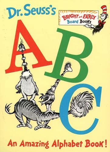 9780001720251: Dr.Seuss's ABC (Bright & Early Board Books)