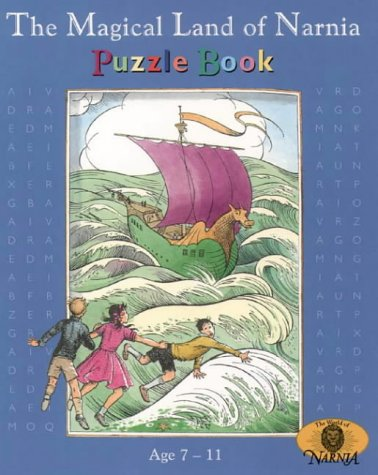 The Magical Land of Narnia Puzzle Book for Age 7-11