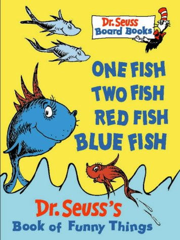 9780001720640: One Fish, Two Fish, Red Fish, Blue Fish (Dr. Seuss Board Books)