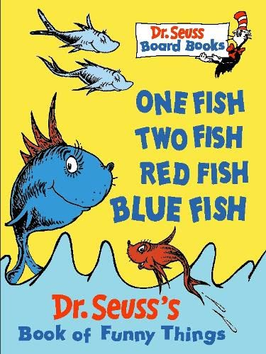 9780001720640: One Fish, Two Fish, Red Fish, Blue Fish (Dr.Seuss Board Books)