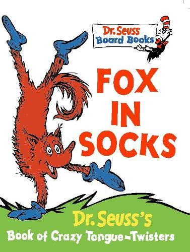 9780001720664: Fox in Socks (Dr. Seuss Board Books)