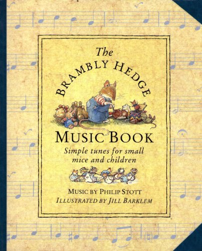 9780001840874: The Brambly Hedge Music Book