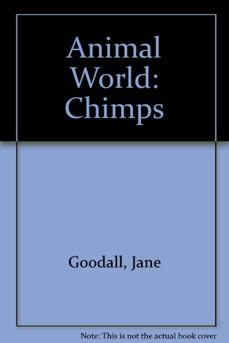 9780001845862: Animal World Chimps Hb