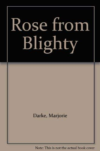 9780001846869: Rose from Blighty