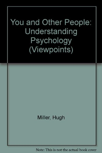 9780001900523: You and Other People: Understanding Psychology (Viewpoints)