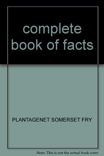 9780001900936: COMPLETE BOOK OF FACTS