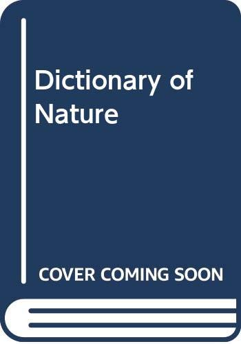 9780001911277: Dictionary of Nature