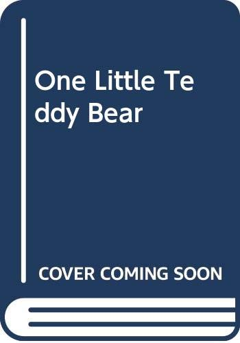 9780001934856: One Little Teddy Bear (A Lift-the-flap counting book)