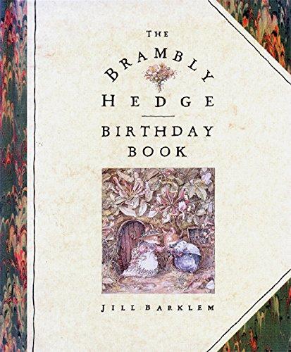 9780001936010: Brambly Hedge Birthday Book