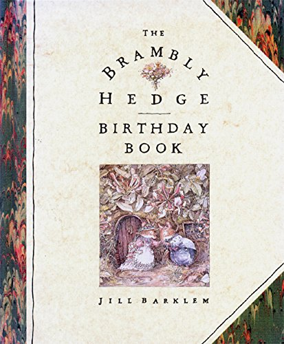 9780001936010: Brambly Hedge Birthday Book