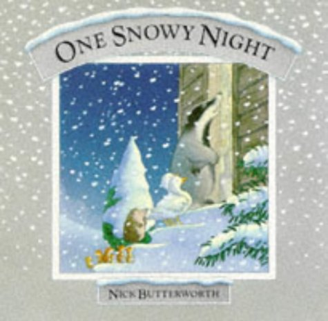 9780001937932: One Snowy Night (Percy the Park Keeper)