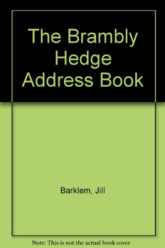 9780001939134: The Brambly Hedge Address Book