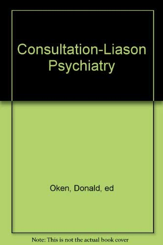 9780001939530: Consultation-Liason Psychiatry