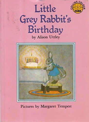 9780001941960: Little Grey Rabbit's Birthday (Colour Cubs)