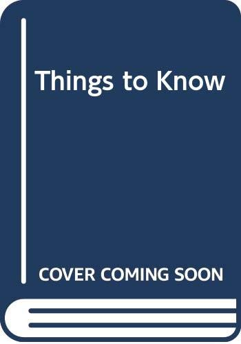 9780001944343: Things to Know