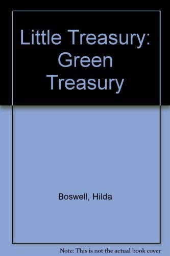 Little Treasury: Green Treasury (0001944851) by Hilda Boswell