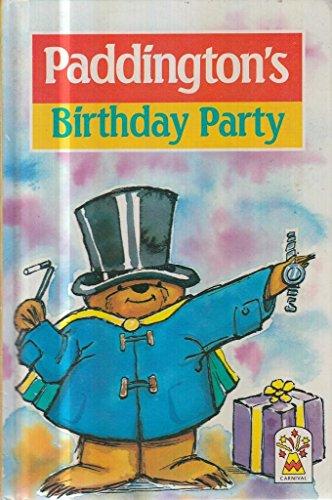 9780001945340: Paddington's Birthday Party