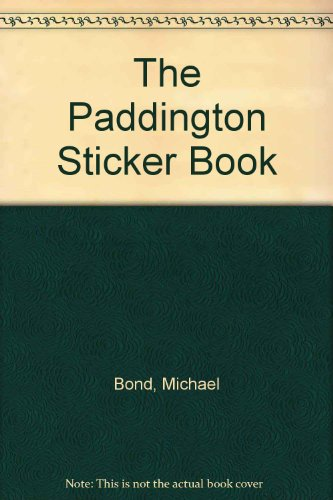 9780001949423: The Paddington Sticker Book