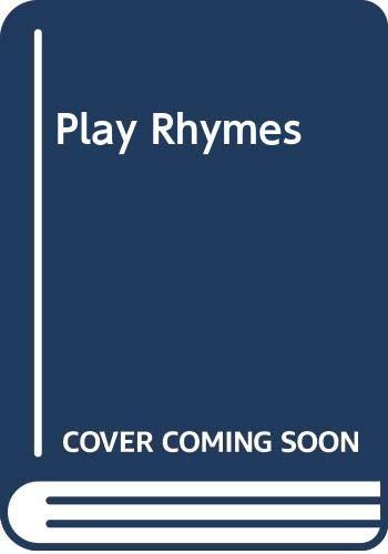 9780001954175: Play Rhymes
