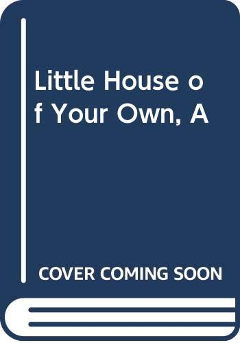 9780001954519: Little House of Your Own, A