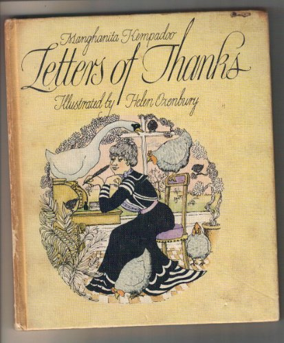 9780001954540: Letters of Thanks