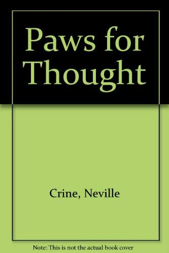 9780001954885: Paws for Thought