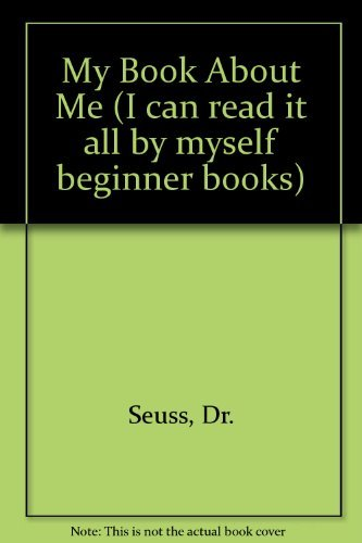 9780001955080: My Book About Me (I can read it all by myself beginner books)