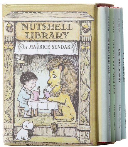 9780001955516: The Nutshell Library: Alligators All Around, Chicken Soup with Rice, One Was Johnny, Pierre,