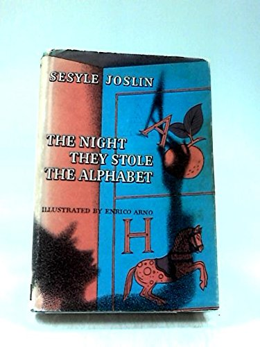 9780001955585: Night They Stole the Alphabet