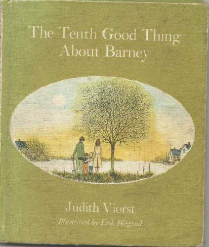 Tenth Good Thing Barney (0001958216) by Viorst, Judith