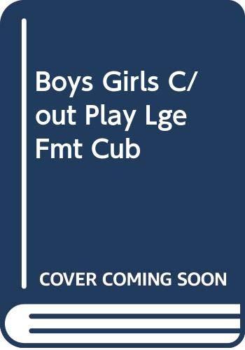 9780001960169: Boys Girls C/out Play Lge Fmt Cub