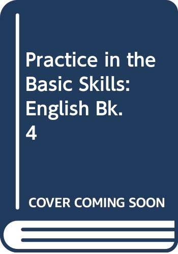 9780001971530: Practice in the Basic Skills: English