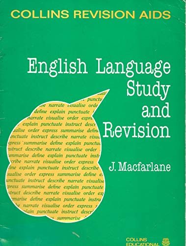 9780001972728: English Language Study and Revision (Revision Aids)